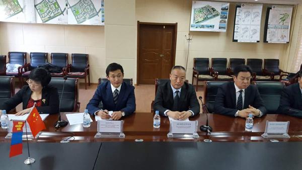 满都拉副局长率团对蒙古国进行工作访问